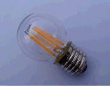 글로벌 전구 G45/G50 3.5W 230V/120V E26/E27/B22 기본적인 명확한 유리제 온난한 백색 90ra 램프