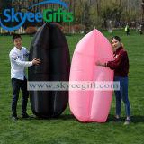 位置袋の膨脹可能な空気ソファー