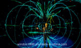 3D Hologram Projection Net Screen para eventos ao vivo Holographic Projector
