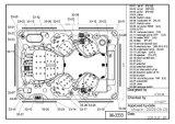 Viereck Luxux-BADEKURORT Vierecks-heiße Wanne-Ausgangsstrudel BADEKURORT