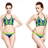 Swimwear Бикини Swimsuit женское бельё износа заплывания вязания крючком купального костюма женщин