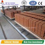 Four à tunnel pour des briques d'argile
