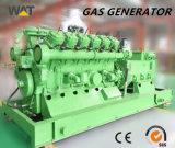 gruppo elettrogeno del gas naturale di potere 1MW con l'uscita a tre fasi di CA