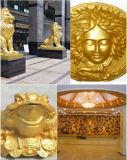 Chesir Royal Gold Pearlesent pigmento de la pintura de recubrimiento (QC303)