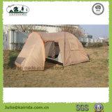 居間が付いている4p二重層のキャンプテント