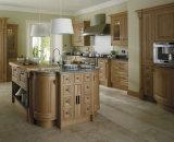 Gabinete de cozinha personalizado da madeira contínua da mobília da HOME da cor