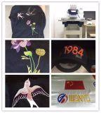 Wonyo einzelne Farben-industrielle Stickerei-Maschine des Kopf-9/12/15 für Schutzkappe, T-Shirt und flache Stickerei mit grosser Bereichs-Stickerei