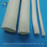 Funda da alta temperatura de la fibra de vidrio sin la capa