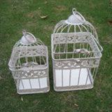 Крытые и напольные клетки птицы металла украшения