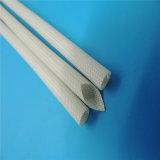 Classe de H isolation électrique tressée Sleevings de fil de fibre de verre enduite de silicone de 200 degrés
