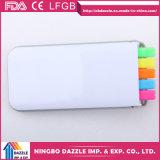 Crayon lecteur rouge de barre de mise en valeur de barre de mise en valeur de crayon lecteur réglé en ligne de cadeau