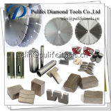 Het cirkel Segment van de Diamant van de Steen van het Graniet van het Deel van de Snijder van de Schijf Marmeren Concrete