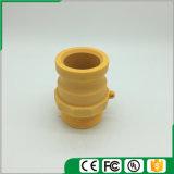 Accoppiamenti di plastica/rapidamente del Camlock accoppiamenti (Tipo-f), colore giallo