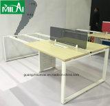우아한 현대 금속 테이블 프레임 사무용 컴퓨터 워크 스테이션 책상 가구