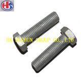 Parafuso de tampão quente da cabeça Hex da venda e parafuso exterior do hexágono para o prendedor da maquinaria (HS-CS-002)