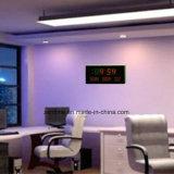Reloj de tiempo electrónico de la pared del LED Digital con días de la semana y la visualización de la fecha