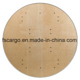 48 '' Round Heavy Duty Birch Wood Folding Banquet Table W / Metal Edges (CGT1620)