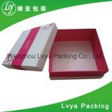 Caixa de papel cosmética de empacotamento cosmética feita sob encomenda do tipo da caixa