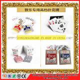 Cartões de jogo de papel do casino