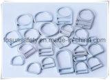 Anillos en D de aluminio de la alta calidad ISO9001 con la sola ranura