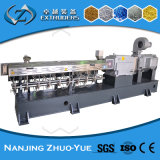 Paralelo de Nanjing Co-Que gira el tornillo gemelo que granula el estirador plástico