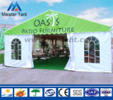 Подгонянный шатер выставки с логосом