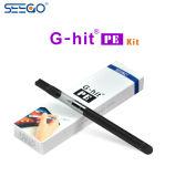 Сигарета Seego электронная G-Ударила пер вапоризатора шлиха PE для E-Жидкости масла Cbd Thc