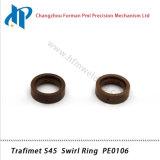 Кольцо PE0106 свирли набора потребляемых веществ газового резака плазмы Trafimet S45