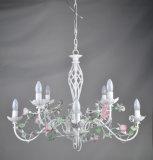 Blanca de la lámpara floral para el mercado de Rusia
