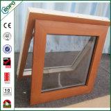 고품질 나무로 되는 색깔을%s 가진 최신 디자인 PVC 차일 Windows
