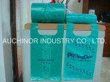 再使用可能な、再生利用できるHDPEのTシャツ袋のベストの買物袋の一重項袋の食料雑貨入れの袋の小切手は袋に入れる