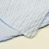Tessuto del jacquard del tessuto dell'indumento del tessuto dello Spandex del tessuto di cotone per usura dei bambini dei pantaloni del vestito