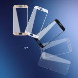 protector curvado 3D de la pantalla del vidrio Tempered 9h para Samsung S7