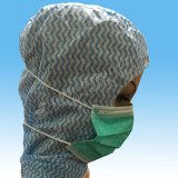 Nonwoven лицевой щиток гермошлема Headloop маски Headloop 3 Ply для Muslem