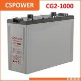 Batería solar del gel de la fuente 2V1000ah de China - gasolinera, sistema Telecom