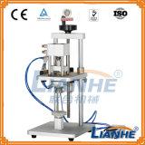 Máquina que prensa neumática de la botella de perfume