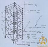 Andamio usado de Cuplock del material de construcción En12810 para la venta
