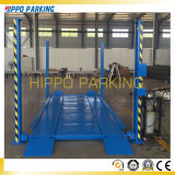 Alzamiento alzamiento/cuatro del estacionamiento del coche de poste del estacionamiento del coche de cuatro pilares