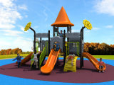 2017 New Mold Factory Kids Exercício Outdoor Playground Slide Equipment