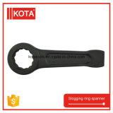 Chave inglesa Slogging da chave anel diferente do aço de carbono do tamanho do único