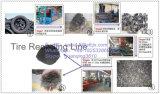 ゴム製粉にラインをリサイクルする自動不用なタイヤ