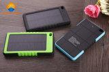 Chargeur solaire du téléphone mobile 5000mAh/12000mAh imperméable à l'eau de côté de pouvoir d'USB