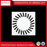 Diffusore rotondo di alluminio di turbinio dei diffusori del soffitto del condizionamento d'aria dei sistemi di HVAC