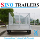 Heavy Duty Domestic Farming Box Trailers