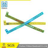 Kundenspezifischer gesponnener Wristband mit Wegwerffaltenbildung für Aktivität