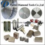 Segmento del diamante del granito della macchina utensile della taglierina di segmento di Pulifei 1600mm