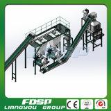 Linea di produzione di legno automatica del laminatoio della pallina con capacità elevata