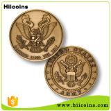 Monete del metallo delle monete dell'OEM vecchie di vendita su ordinazione della moneta