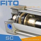 La UE estándar del aro del pistón de Ycc del cilindro saca el polvo del anillo de Airtac
