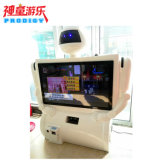 máquina de juegos de vídeo interactivo de la simulación de la proyección de imagen 3D